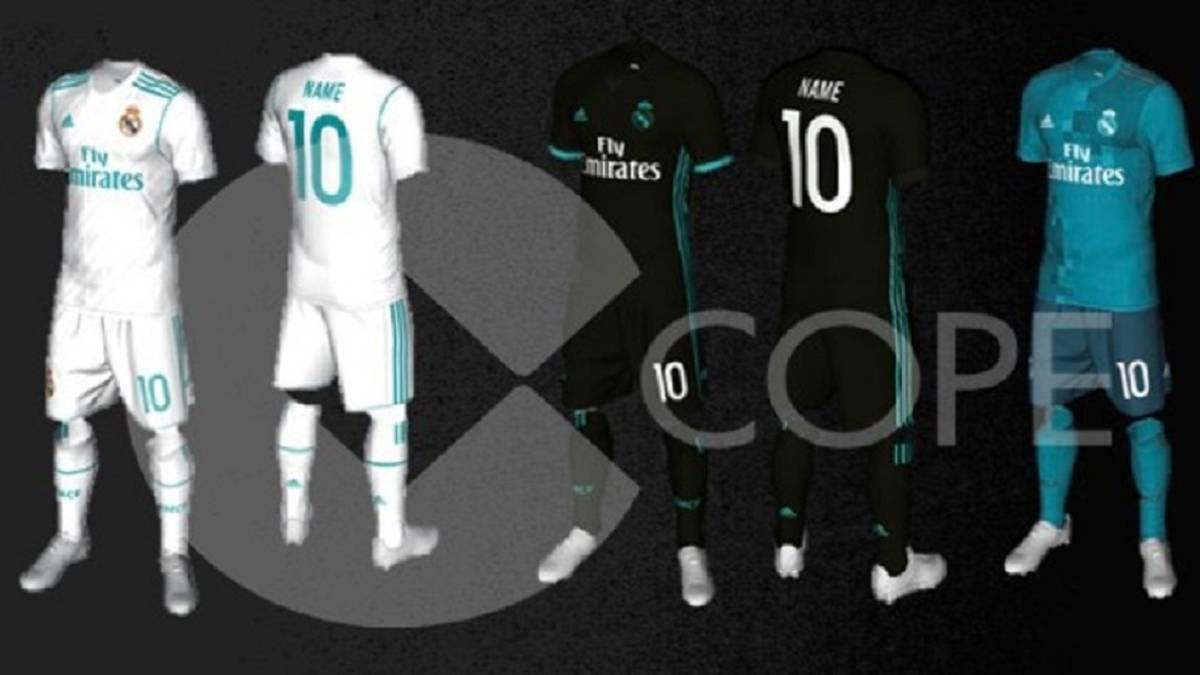 Filtraron posibles nuevas playeras del Real Madrid 3ddcee98d0439
