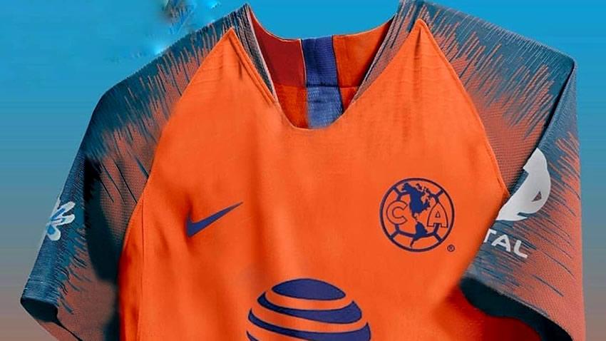 the latest e1d71 b8536 Filtran posible tercer uniforme del América - Mediotiempo