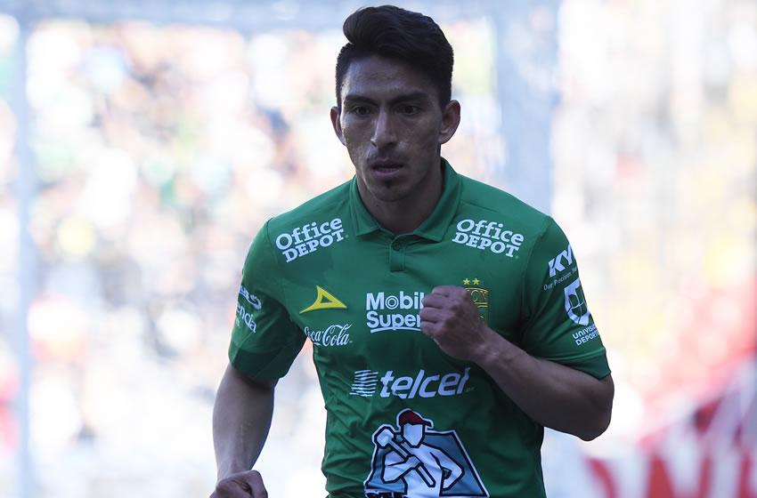 Ángel Mena busca recuperar su nivel defendiendo la camiseta de León 1e777e1b42112