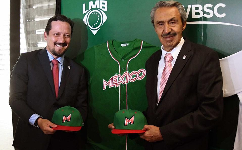 4f621453a Selección Mexicana de Beisbol presenta uniforme con el que buscará cupo en  Tokio 2020