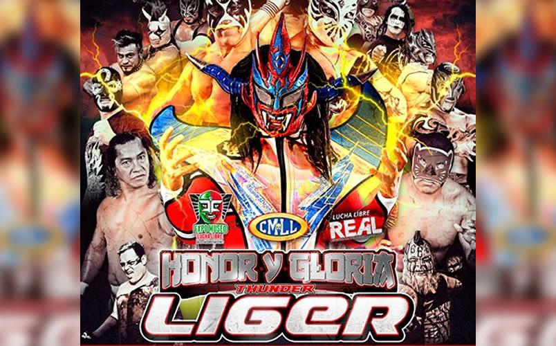 Liger se despedirá de México ante 10 rivales en Lucha Libre