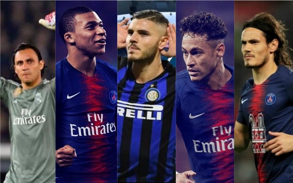 PSG: La poderosa plantilla en busca de la Champions League 2019 - Mediotiempo