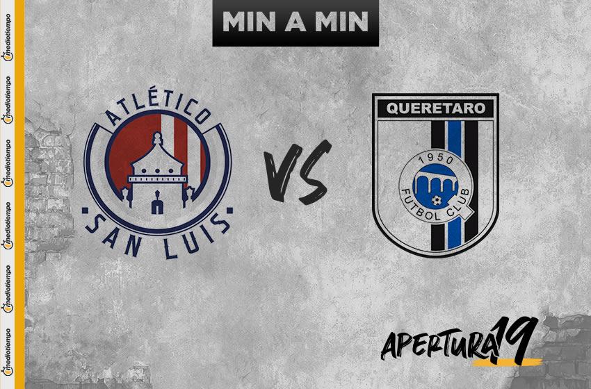 San Luis vs Querétaro: OnLine y en vivo; Jornada 14, Apertura 2019
