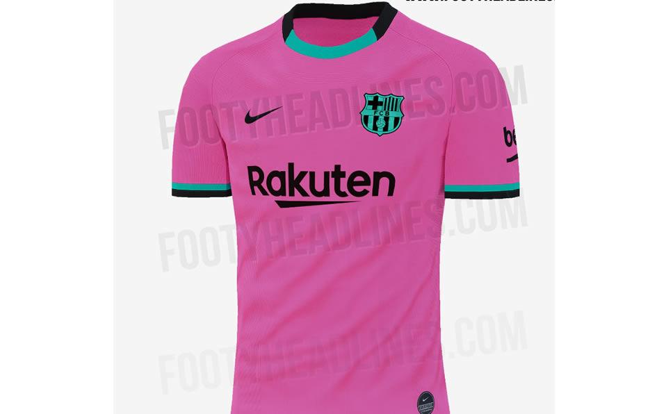 Filtran Tercer Camiseta Del Barcelona Y Sera De Color Rosa Mediotiempo