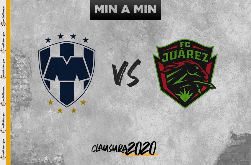Monterrey vs Juárez en vivo: Resumen del juego y goles