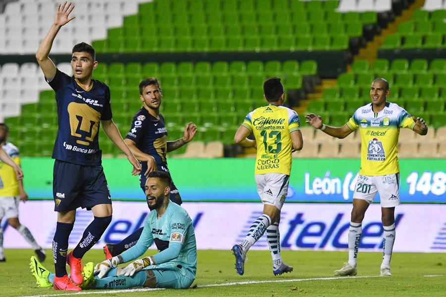 León vs Pumas en vivo. Clausura 2020 Jornada 10 - Mediotiempo