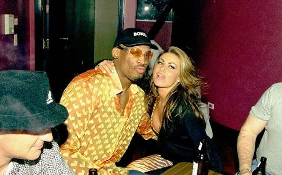 Carmen Electra Dennis Rodman And I Did It Everywhere Nba World Today News