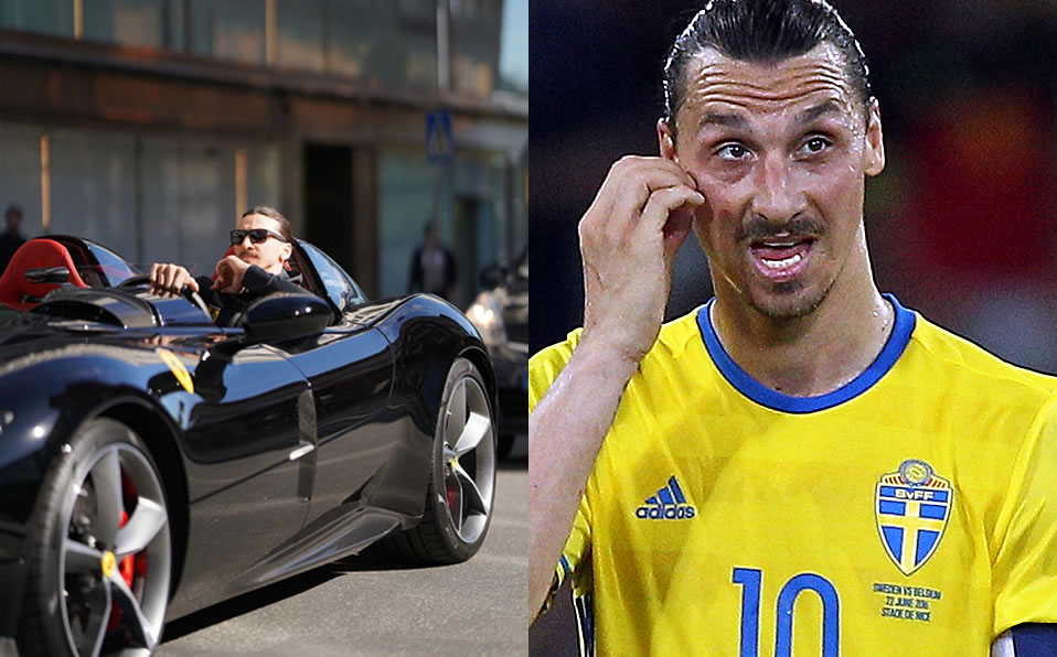 Zlatan Ibrahimovic Illegally Drives 2 Million Ferrari In Sweden World Today News