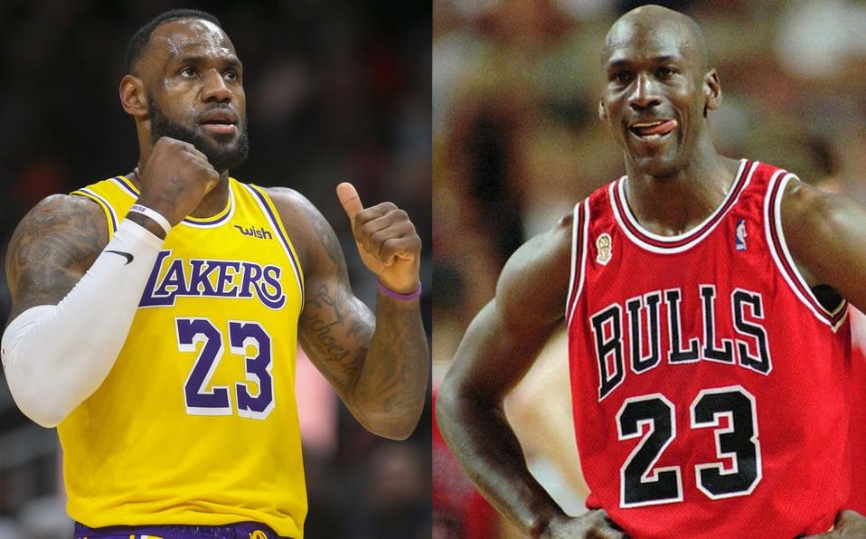 LeBron James: Habría llevado a Jordan a otro nivel en lugar de Pippen - Mediotiempo