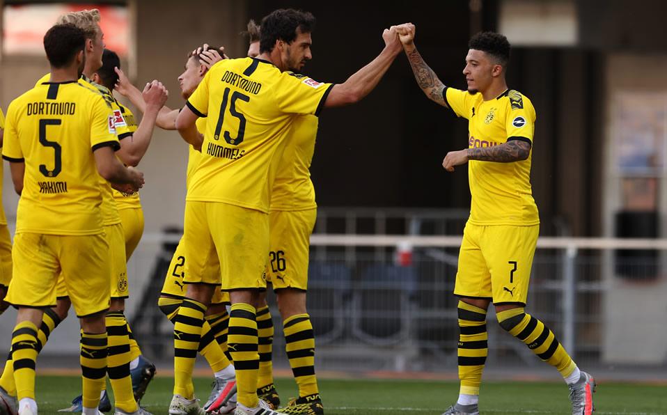 Paderborn vs Dortmund (1-6): Con hat-trick de Sancho Borussia goleó - Mediotiempo