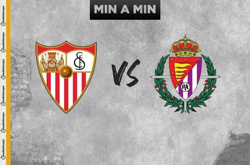 Sevilla vs Valladolid en vivo: Jornada 32 de LaLiga