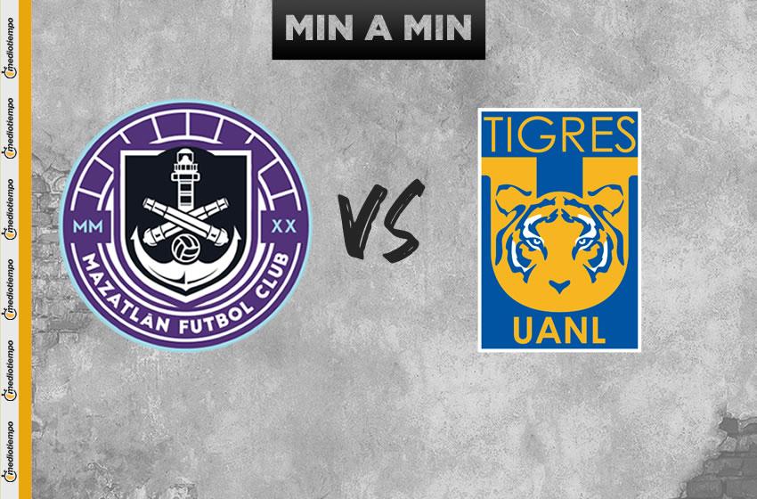 Mazatlán FC vs Tigres en vivo: Jornada 1 de la Copa GNP por México