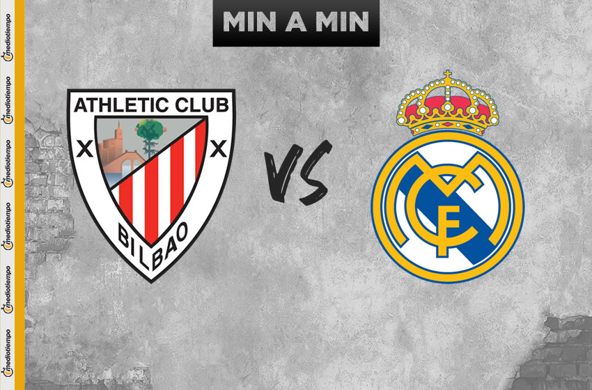 Athletic de Bilbao vs Real Madrid en vivo: Jornada 34 de LaLiga