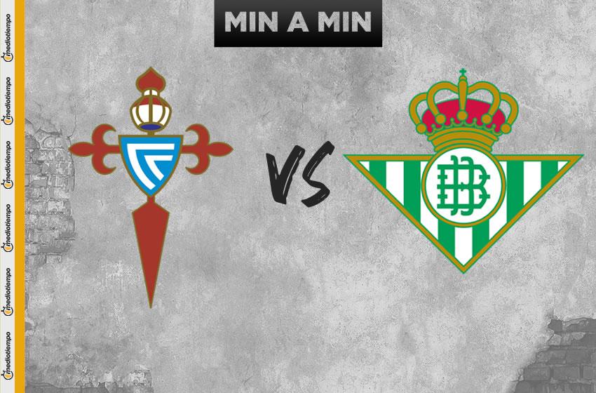 Celta de Vigo vs Real Betis en vivo: Jornada 34 de LaLiga