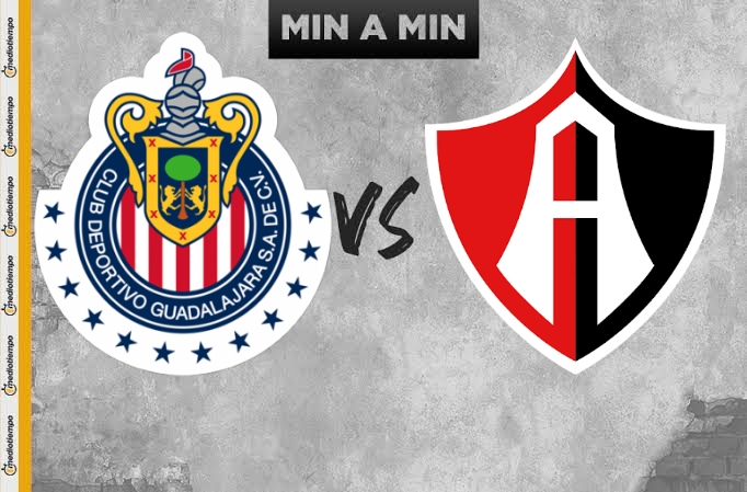 Chivas vs Atlas EN VIVO Copa GNP por México Liga Mx