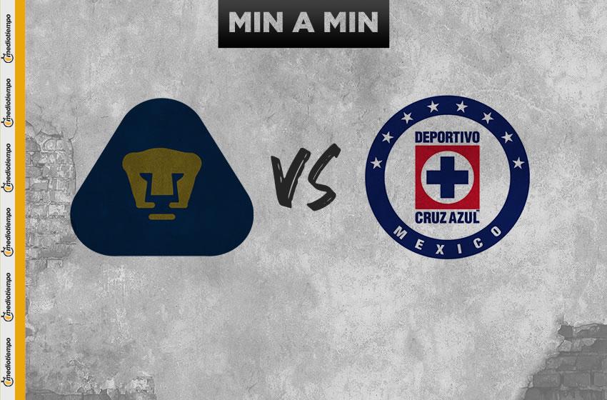 Pumas vs Cruz Azul (1-4): resumen del juego y goles