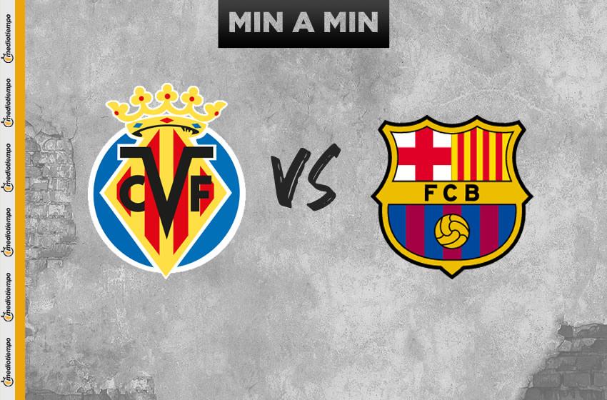 Villarreal vs Barcelona en vivo: Jornada 34 de LaLiga