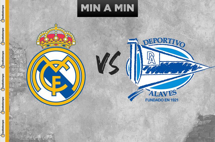 Real Madrid vs Alavés en vivo: Jornada 35 de LaLiga