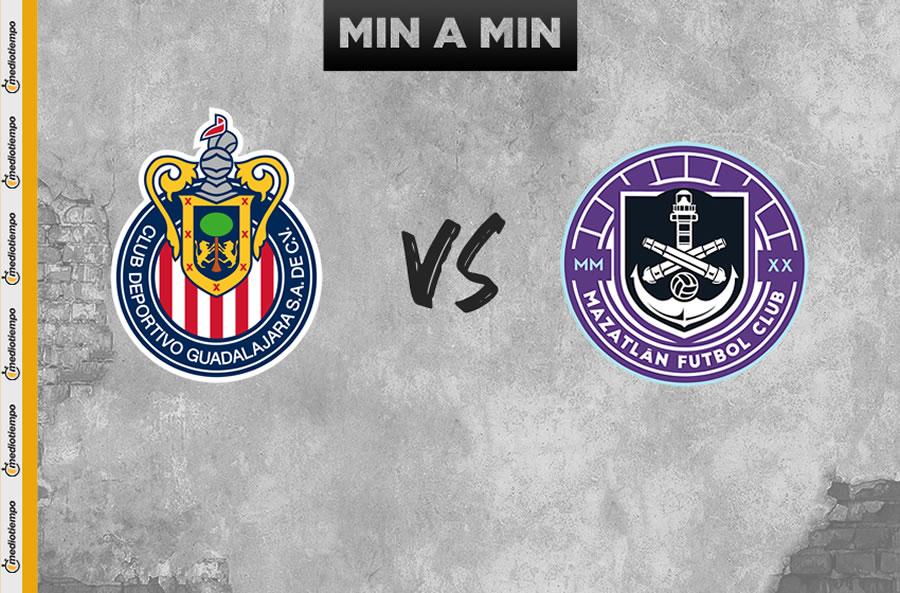 Chivas vs Mazatlán FC (3-1): Resumen y goles, Jornada 3 de la Copa GNP