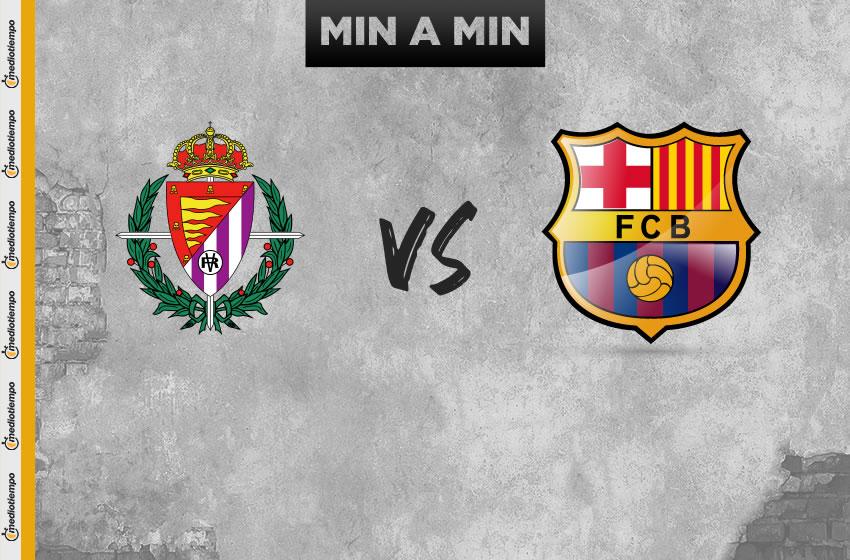 Valladolid vs Barcelona en vivo: LaLiga, jornada 36