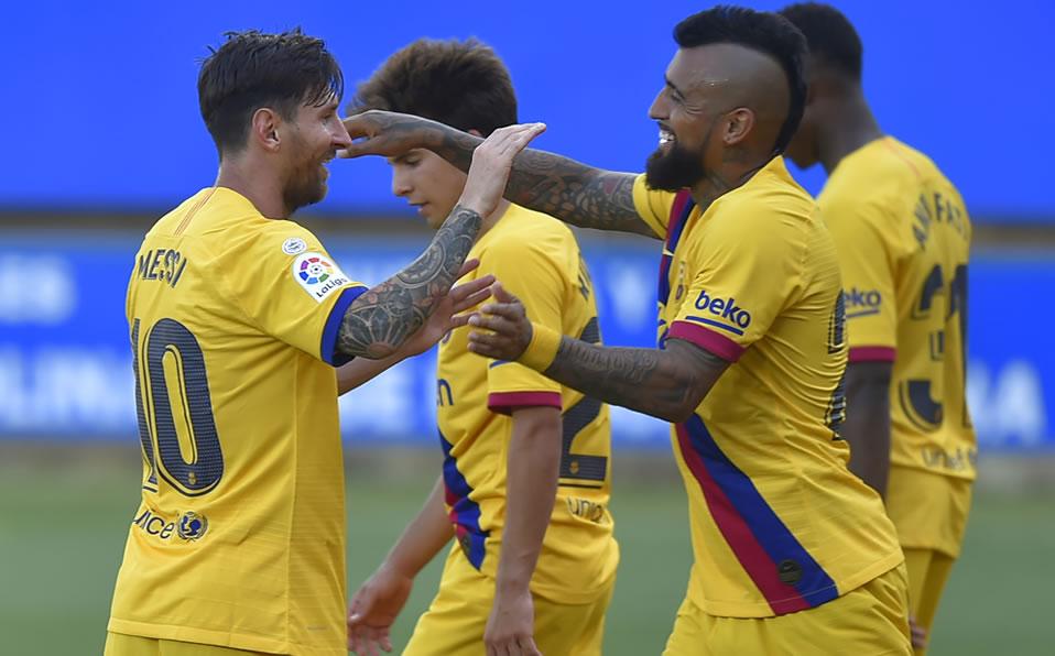 Lionel Messi suma otra marca en el triunfo del Barcelona ante Alavés - Mediotiempo