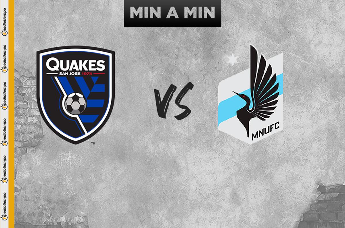 San José Earthquakes vs Minnesota United en vivo: Cuartos de Final MLS