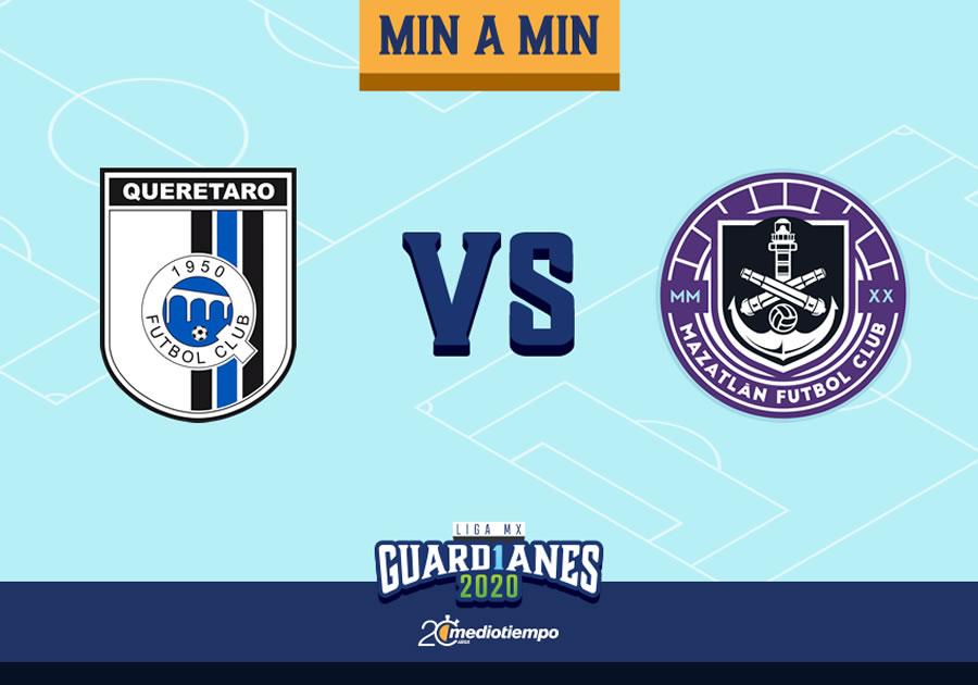 Querétaro vs Mazatlán FC: Resumen y goles, Jornada 2 Guard1anes 2020