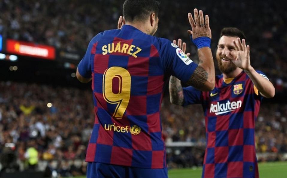 Messi Reaparece Jugando En Medio De Su Novela Con El Barcelona Mediotiempo
