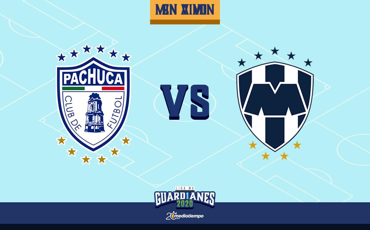 Pachuca vs Monterrey en vivo: Guard1anes 2020 Jornada 10