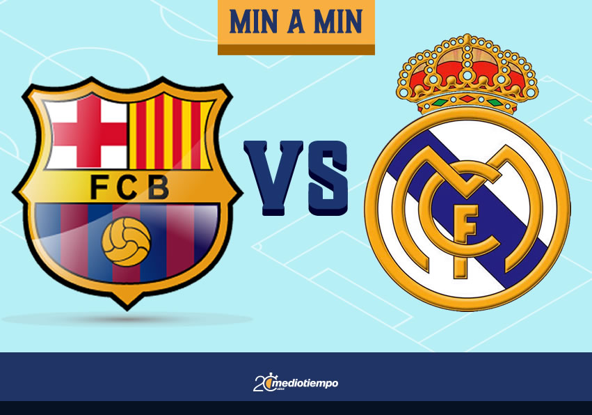 Barcelona Vs Real Madrid Resumen Laliga Jornada 7 Mediotiempo