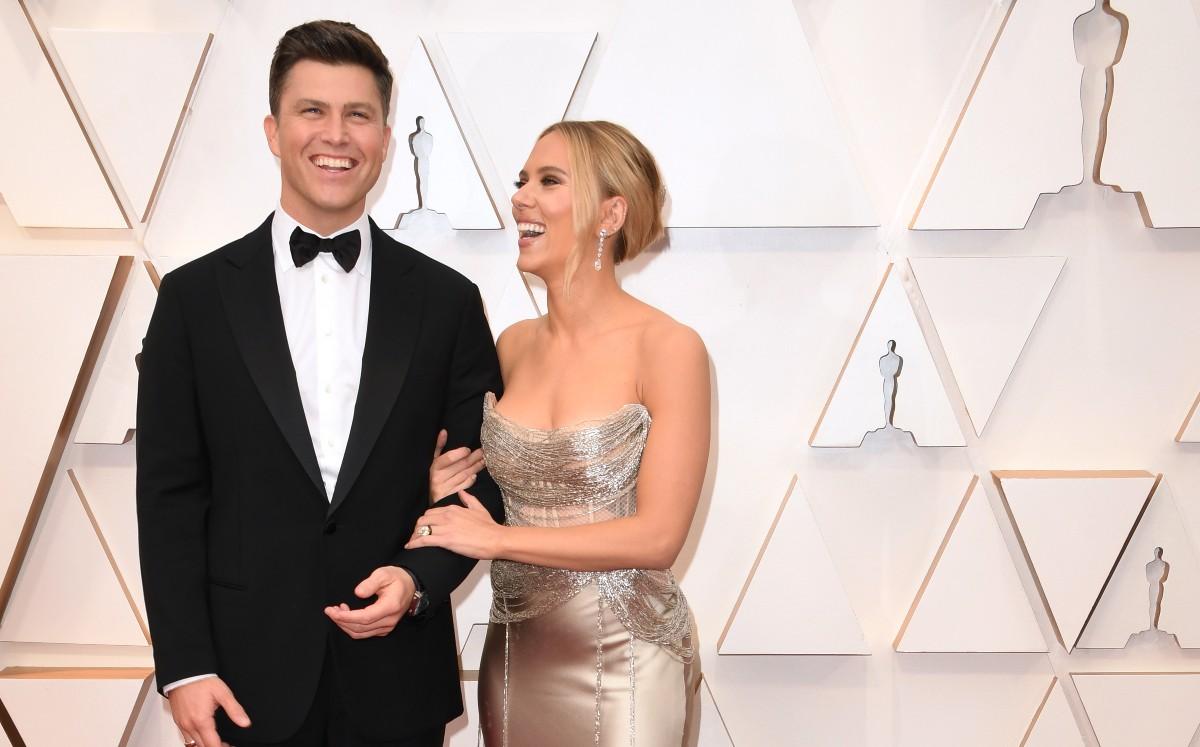 Scarlett Johansson se casó en secreto con el actor Colin Jost - Mediotiempo