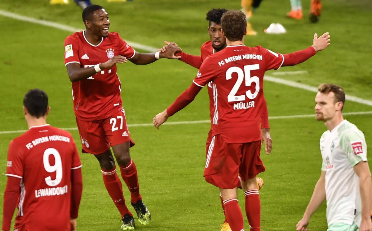 Bayern Munich vs Werder Bremen (1-1): sorpresa en Bundesliga - Mediotiempo