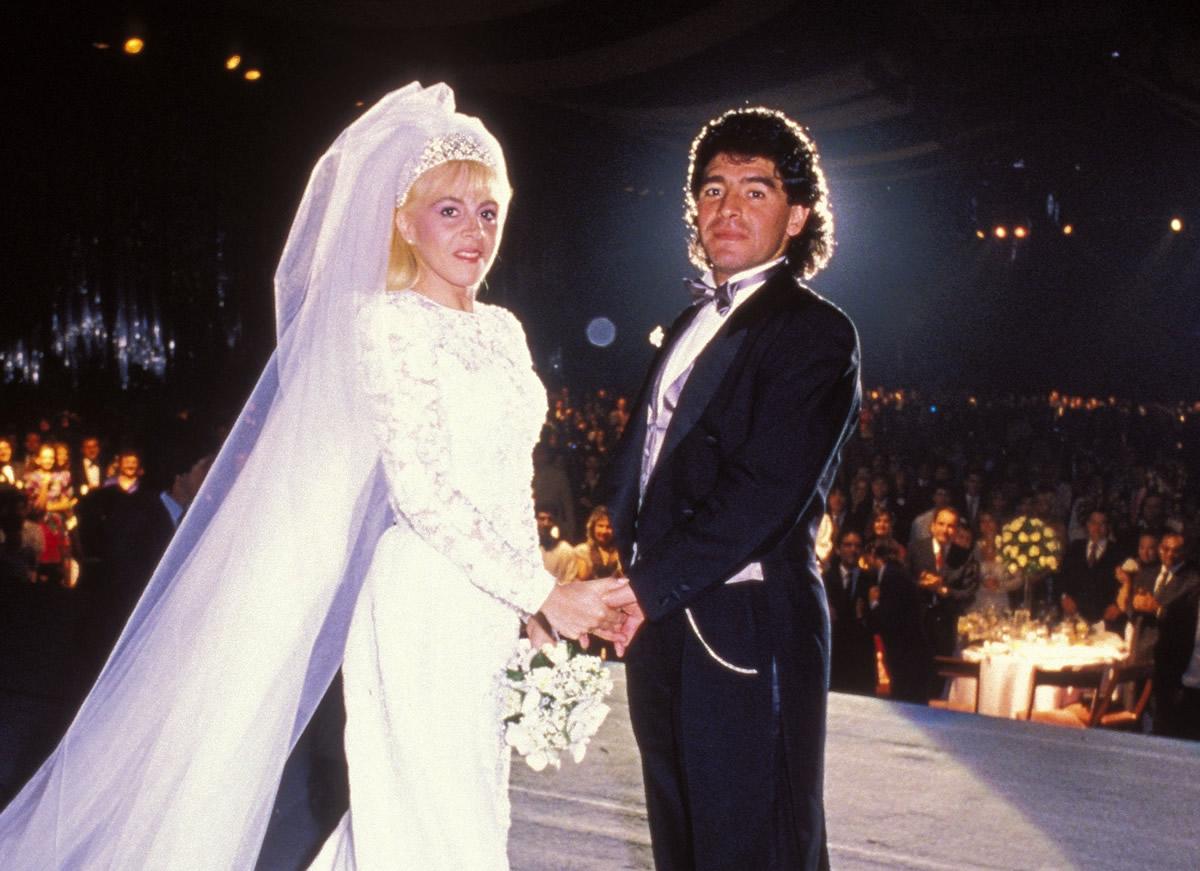 La Boda De Maradona Y De Claudia Villafane Con Mil 200 Invitados Mediotiempo