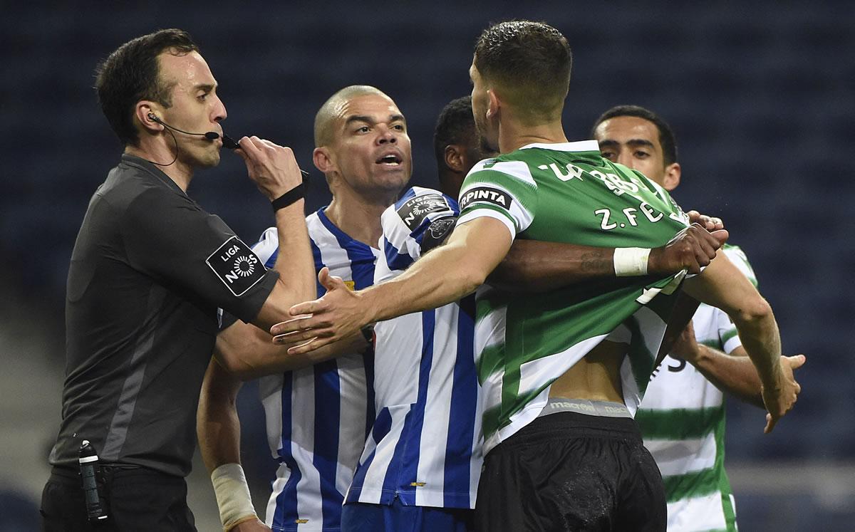 Porto vs Sporting (0-0). Se le escapa la liga a los Dragones - Mediotiempo