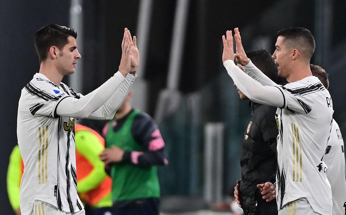 Juventus vs Lazio (3-1): Álvaro Morata se viste de Cristiano Ronaldo - Mediotiempo