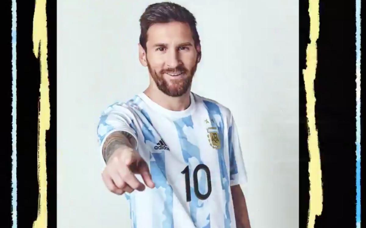 ¡Sin faltar Messi! Argentina presentó nueva playera para Copa América y Eliminatoria Mundialista