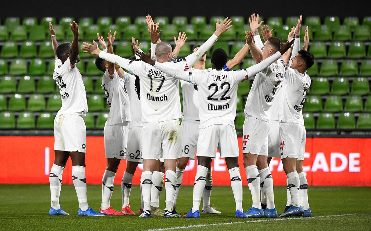 El Lille se aferra al liderato tras derrotar al Metz (0-2)