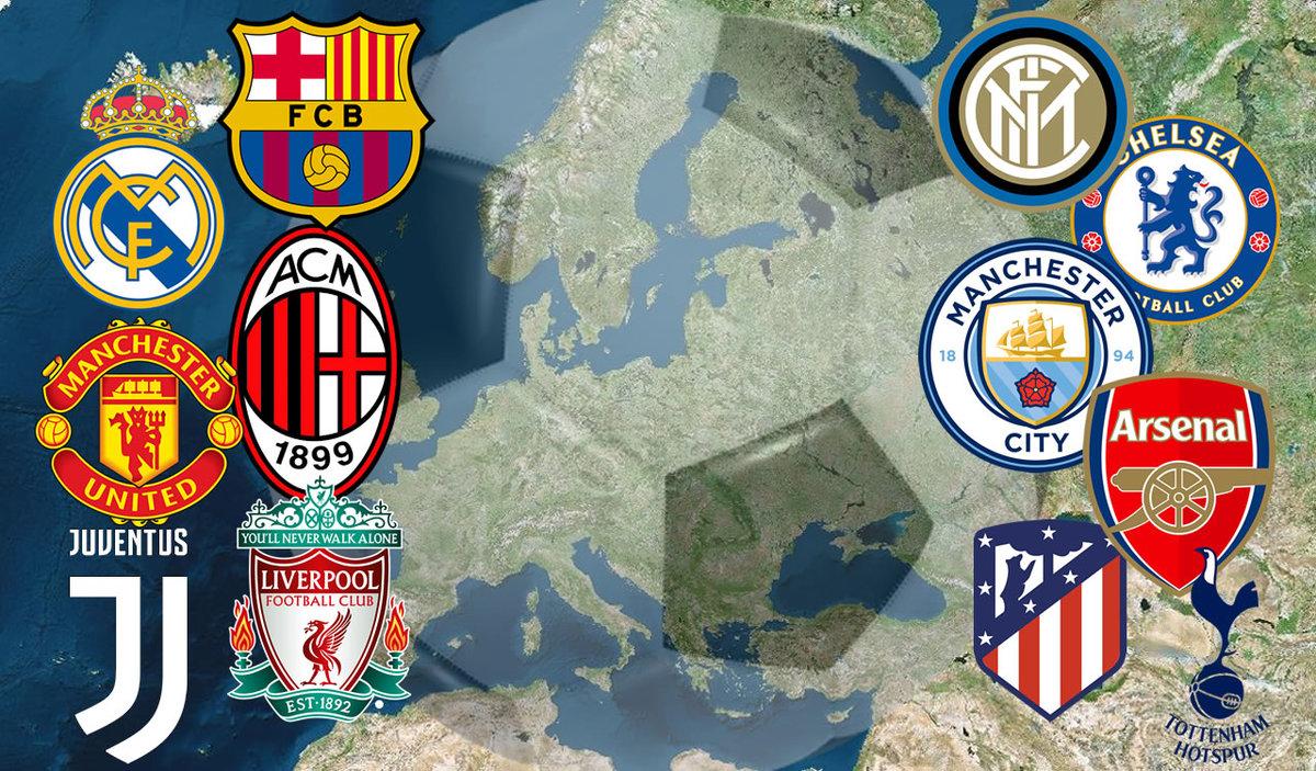 Qué es la Superliga Europea y cómo se jugará? Clubes que participarán -  Mediotiempo