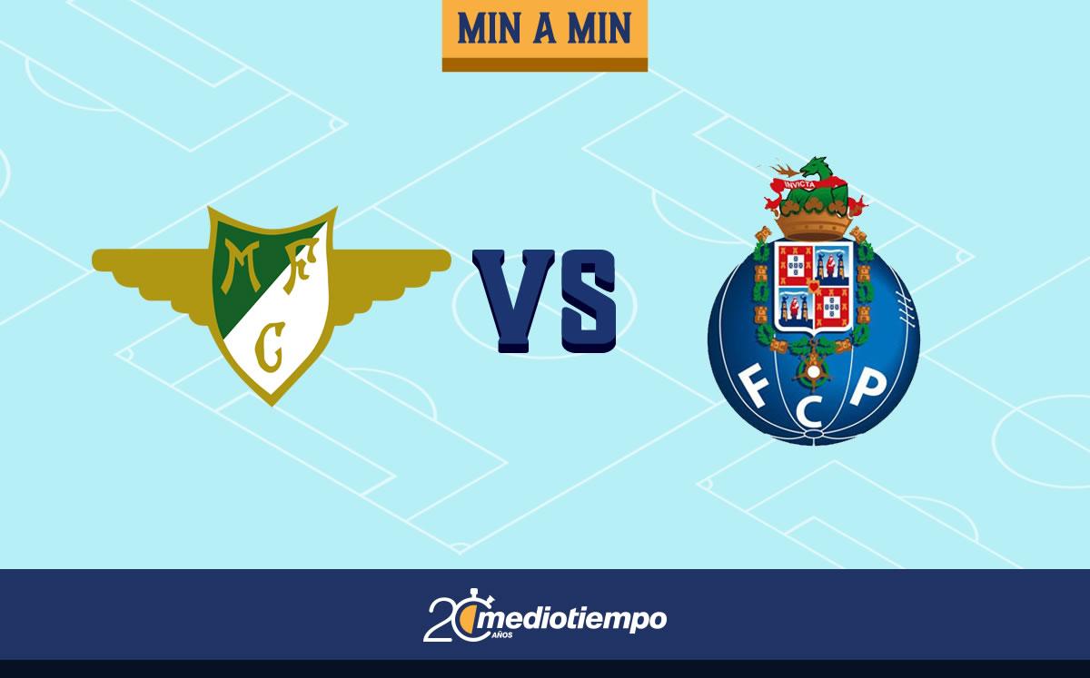 Moreirense vs Porto 1-1. Jornada 29, Liga de Portugal; resultado - Mediotiempo