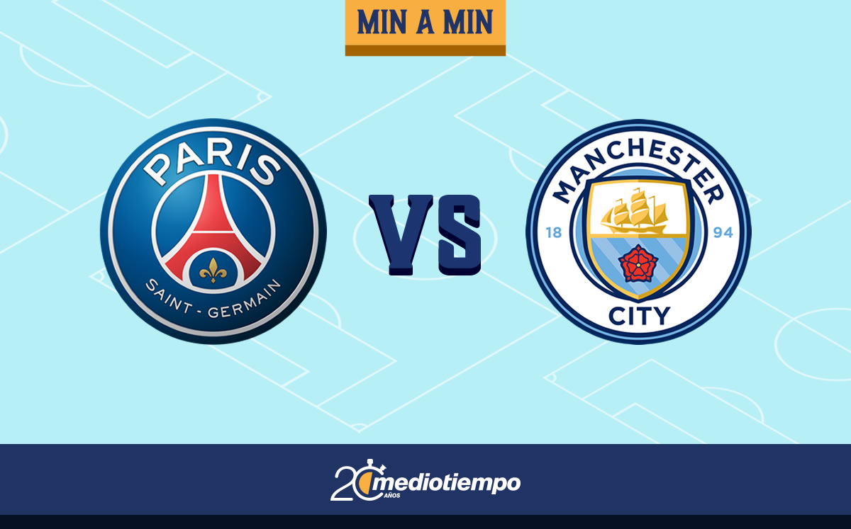 PSG vs Manchester City EN VIVO. Champions League hoy ...
