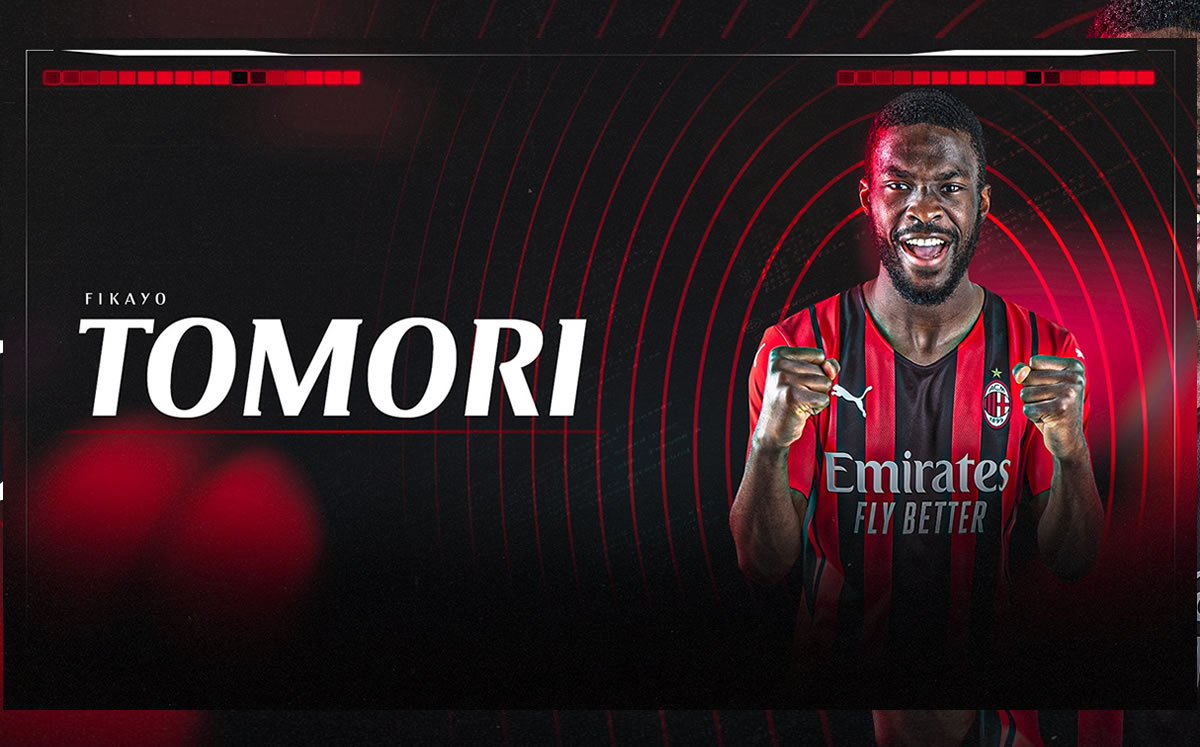 AC Milan stays with Fikayo Tomori for the Champions League