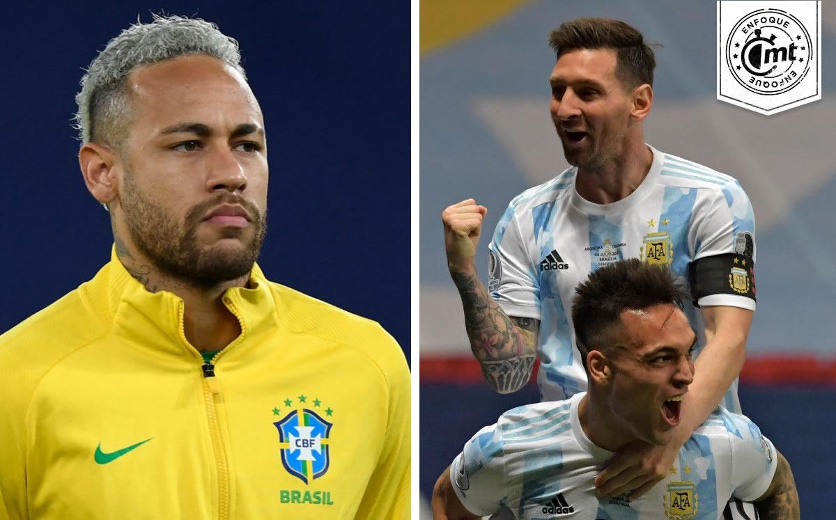 Brasil vs. Argentina: Copa América tendrá una Final muy 'europea' - Mediotiempo
