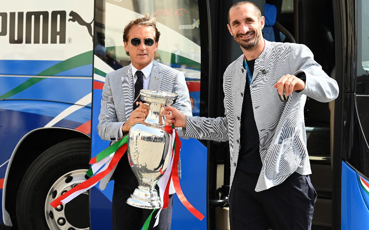 La Juventus 'ignora' a Chiellini y el campeón de la Euro sigue libre - Mediotiempo
