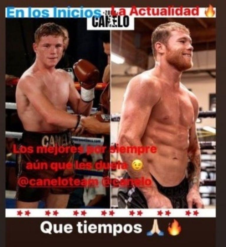 Fuente: Instagram @Canelo