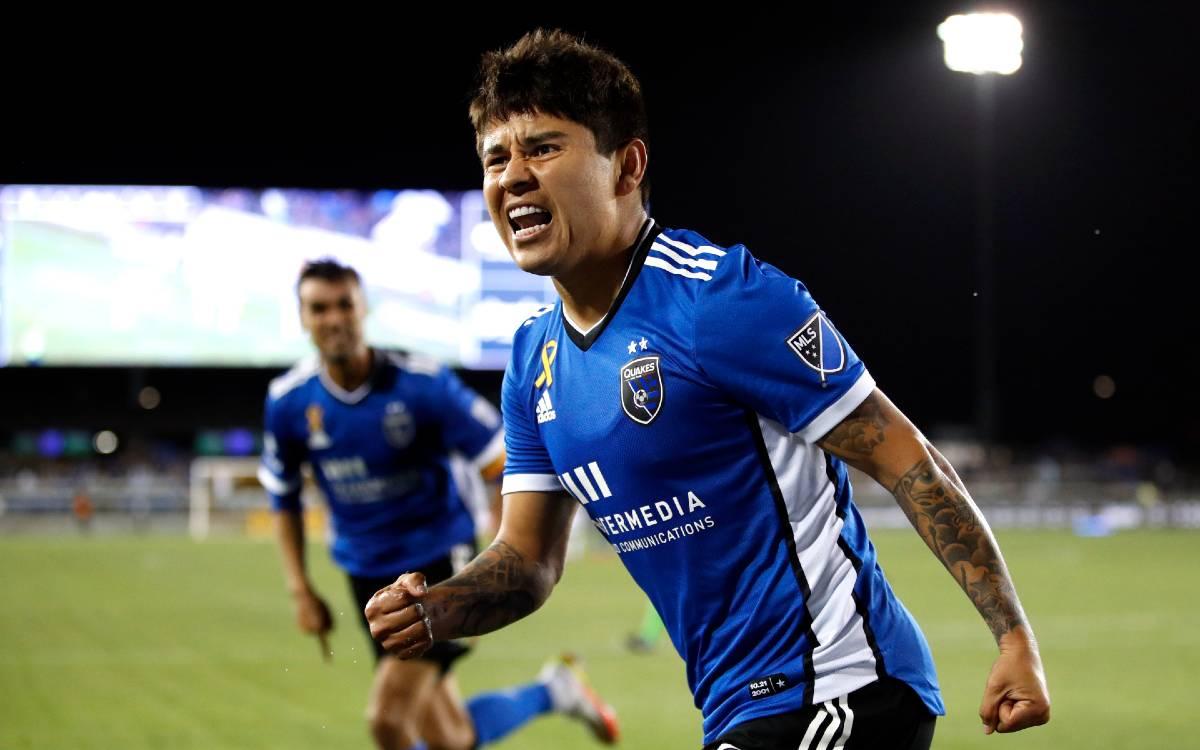 ¡Imparable! Chofis López acecha marca de Carlos Vela con sus 11 goles en la MLS