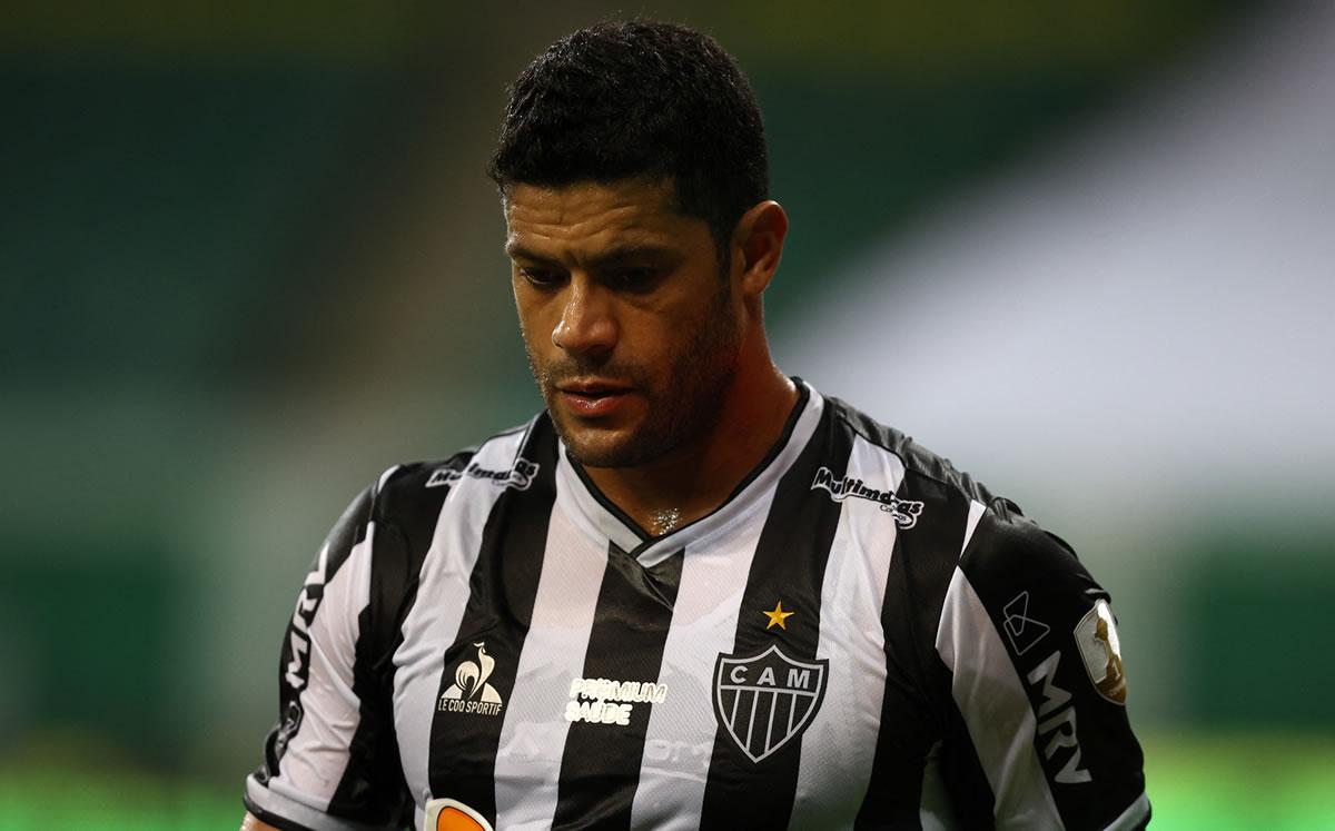 Viral fallo de Hulk en Copa Libertadores con Atlético Mineiro
