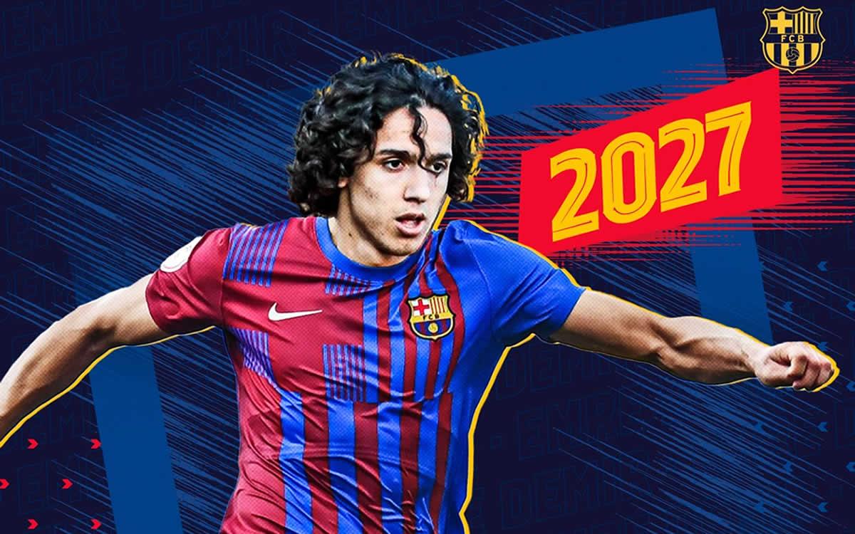 Barcelona ficha a promesa turca de 17 años y le pone cláusula de ¡400 millones!