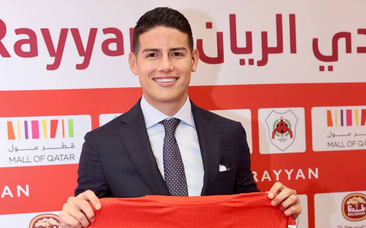 ¿Con la mira en la Ligue1? James Rodríguez tendría cláusula con el Al-Rayyan que lo podría llevar al PSG