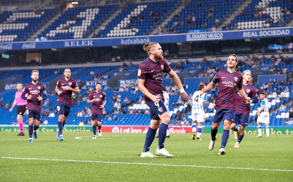 Huesca de Nacho Ambriz se sacude presión con triunfo