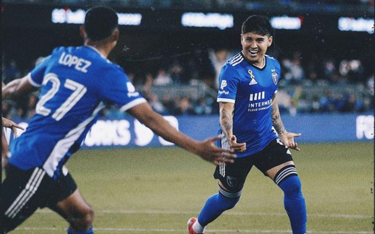 ¡Sigue 'ON FIRE'! Chofis López anotó por tercer partido consecutivo en la MLS